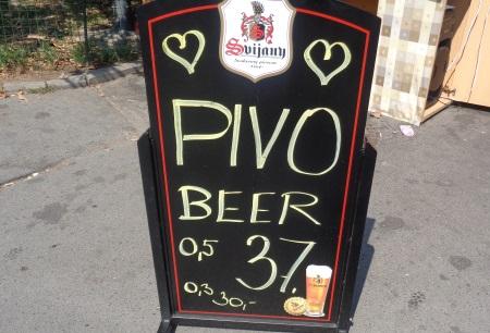 Beer prices Prague