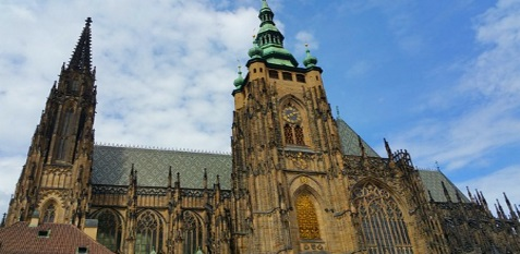 St Vitus Cathedral Prague Castle (outside)