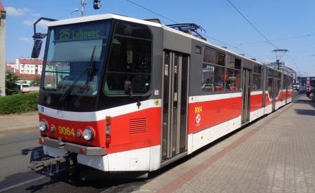 New Tram Prague